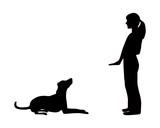 Hundetraining (Obedience), Befehl Platz! poster