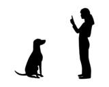 Hundetraining (Obedience), Befehl Sitz! poster