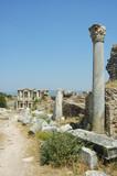 Roman ruins at Ephesus in Turkey poster