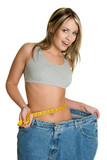 Shocked Weight Loss Girl poster