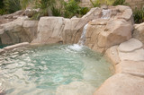 Tropical Custom Pool & Jacuzzi poster