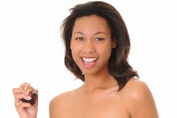 African American Perfume Girl