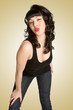 Pinup Girl Puckering