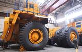 Fototapety Huge industrial truck