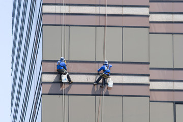 Two Window Washers
