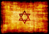 Jewish Star Engraved on Parchment poster