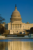US Capitol Building in the late afternoon - 8495286
