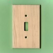 Light Wood Switch Plate