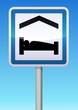 Panneau de signalisation chambres d'hôtes