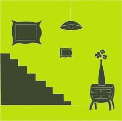 appartement meublé vert