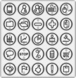 Metal Buttons, Business and Office (set4,part1)