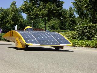 voiture à énergie solaire