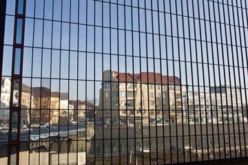 Häuserspiegelung - Berlin Kaiserdamm