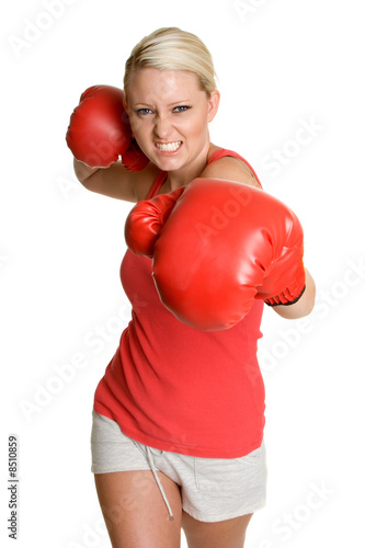 Boxing Teen