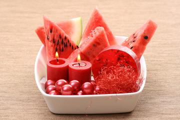 watermelon bath