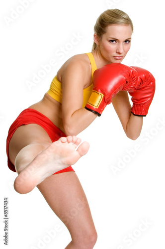 Kick Boxer Woman