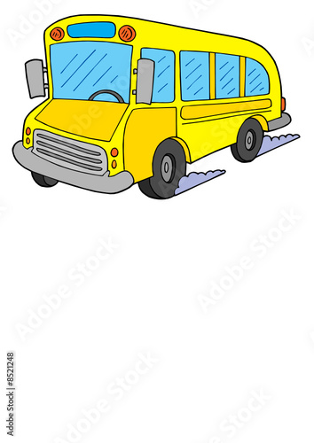 Schoolbus vector illustration