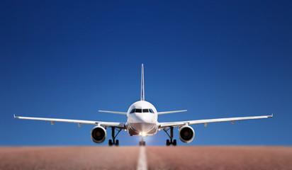 Airbus on runway