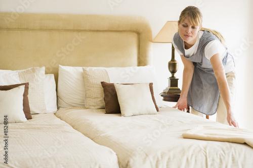 Pomoc domowa w pokoju hotelowym