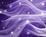 star field of bright and shining stars poster