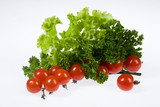 Tomatoes With Greenery poster