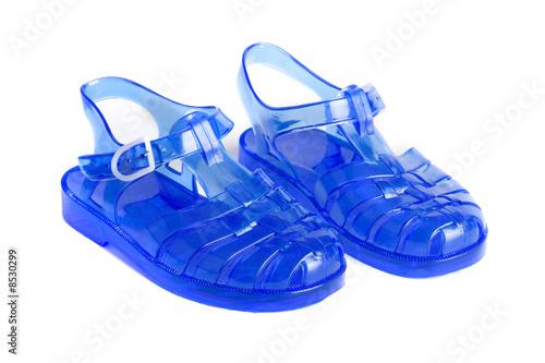 Leinwandbild Motiv Chaussures de plage