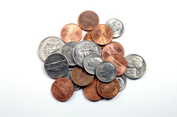 Group of Coins