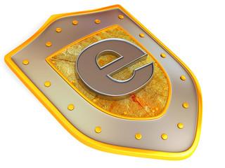 Shield with e
