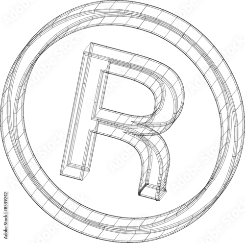 All rights reserved symbol
