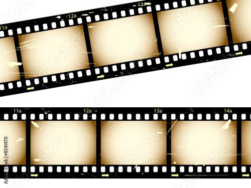 Grunge filmstrips
