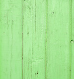 green wooden planks poster