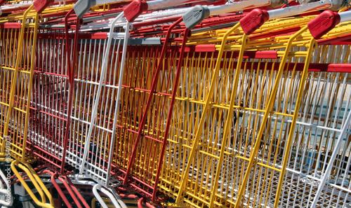 Chariots de magasin
