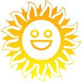 Sole felice poster