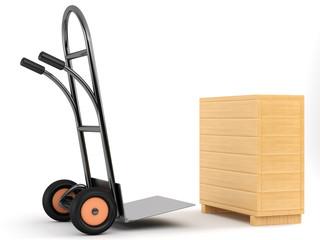barrow truck and box