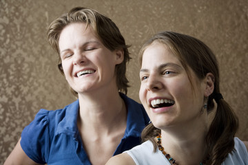 Women Laughing
