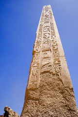 Obelisk at The Temple of Karnak