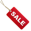Red Sale Tag - 8574402
