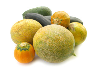 Melons and pumpkins