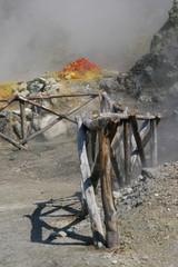 Solfatara a Pozzuoli - Campi Flegrei - Campania