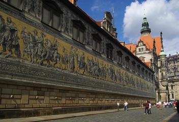 Dresden Fürstenzug - Dresden Procession of Princes 02