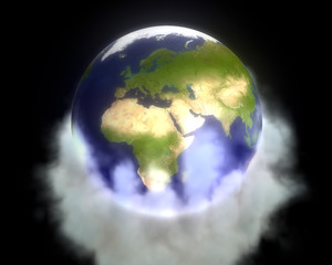 Greenhouse gases envelop Earth