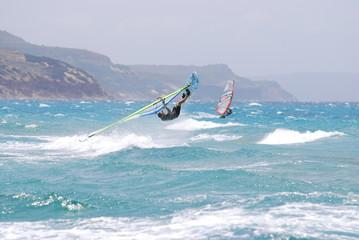 Windsurfing in Sardegna