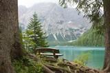 Fototapety Veduta seduta sul lago