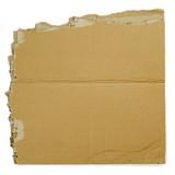 Cardboard sign poster