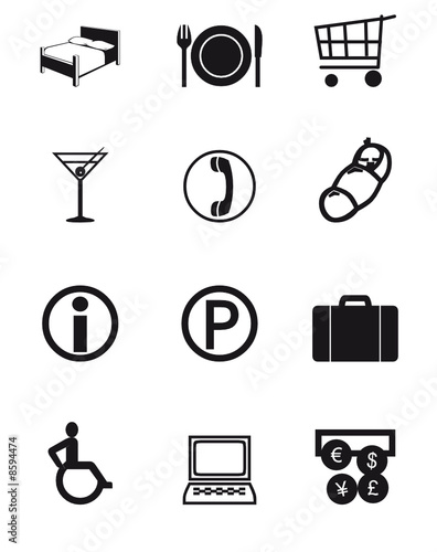 poster of Travel Icons