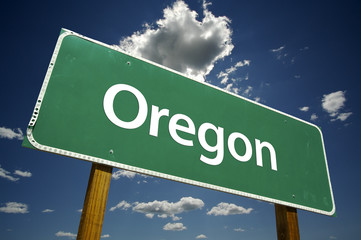 Oregon Road Sign