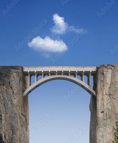 Zdjęcia na płótnie, fototapety, obrazy : Bridge and Sky