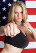 American Martial Arts Woman