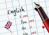 Cours d'anglais (conjugaison) - 8601654