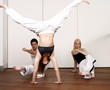 Students practicing Capoeira